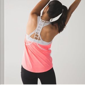 New LULULEMON Breezy Singlet Tank Top White 8